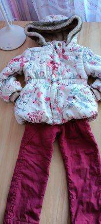 Курточка новая на девочку на 1-2 годика