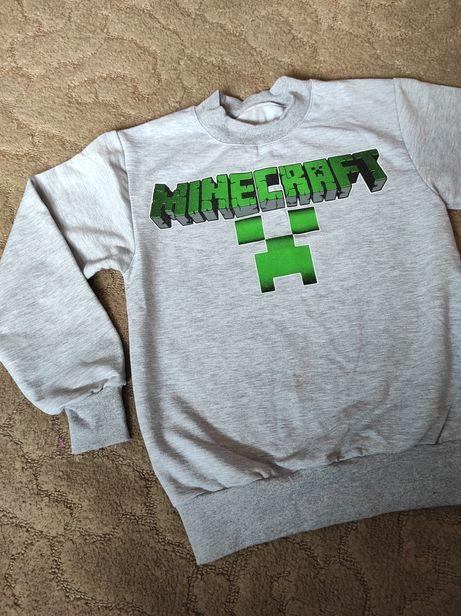 Нова кофта джемпер гольф светр Minecraft