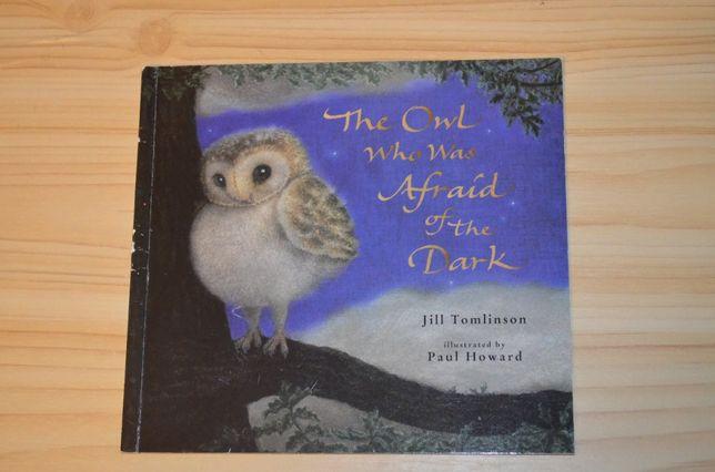 The owl who was afraid of the dark, детская книга на английском языке