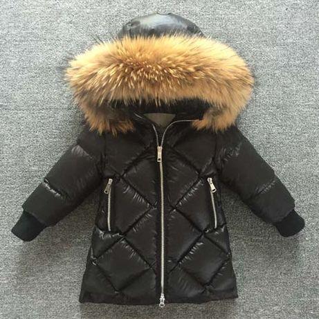 Зимний Детский Пуховик moncler куртка зимняя монклер пальто зима