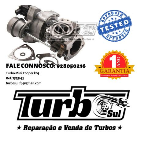 Turbo Mini Cooper k03 Ref. 757565