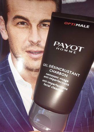 Payot Optimale Homme Gel Desincrustant Charbon