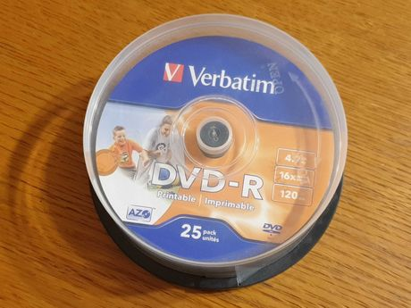 Verbatim DVD-R 4,7GB x16 20szt. Printable