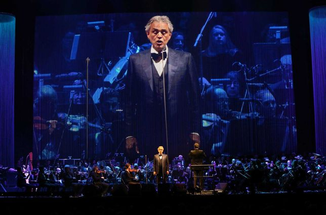 Concerto Andrea Bocelli - SÁBADO 26-06
