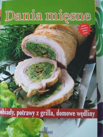 Książka kucharska- Dania mięsne