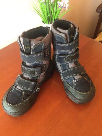 Сапоги термо, ботинки Ecco
