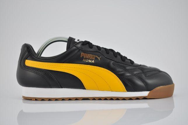 "Puma Roma Anniversario ""Puma Black/Spectra Yellow"" 42 sklep PURRFECT"