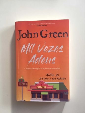 Livro Mil vezes Adeus de John Green