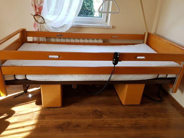Sprzedam łóżko rehabiltacyjne z materacem 200x70