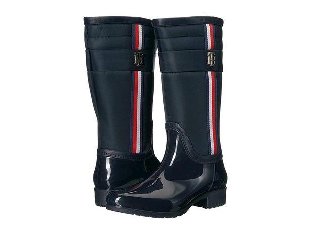 ботинки резиновые сапоги Tommy Hilfiger 7US 24-24.5 см кроссовки Guess