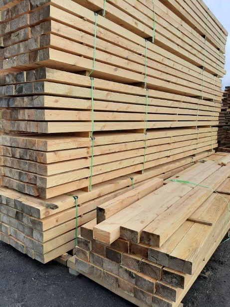 strugane belki konstrukcyjne sosna 80x200 6m krawędziaki sosnowe
