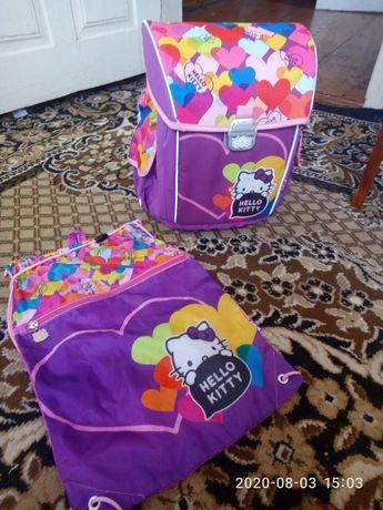 Фірмовий  рюкзак Hello Kitty  Kay+сумка