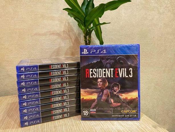 Обитель Зла 3 Ремейк (Resident Evil 3) (PS4)