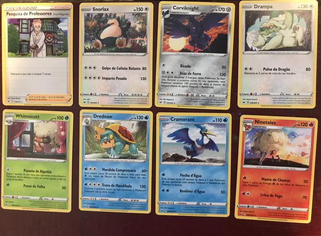 Cartas Pokémon espada & escudo Raras
