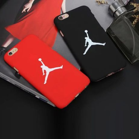 Etui iPhone 6 6S 7 7S 8 AIR JORDAN obudowa plecki apple case NIKE