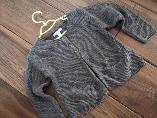 Elegancki sweterek z Obaibi roz. 92 NOWY