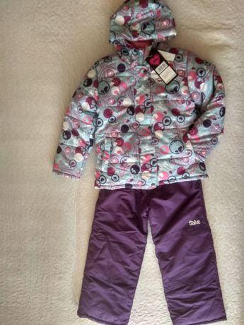 Зимний комплект куртка полукомбинезон Salve by Gusti на рост 128-134