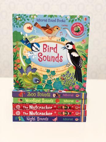 Usborne Bird Sounds Music Book , новинка2020 книга о птицах