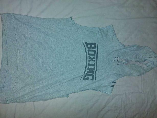 T-shirt / Top sem alças com capuz Boxe Outshock