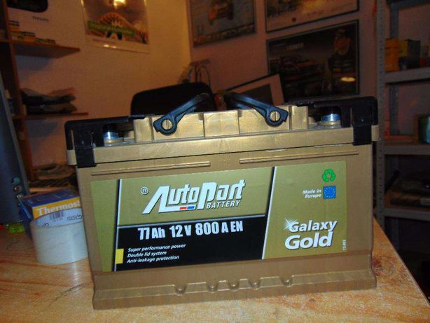 Akumulator Autopart Galaxy Gold 77Ah 800A P+ wymiana Kraków