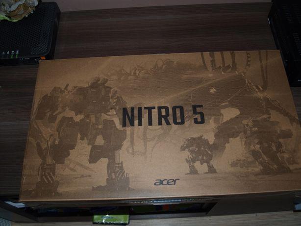 """Laptop Gamingowy Acer Nitro 5 15,6"""" 144Hz Ryzen 5 16GB Ram GTX 1650"""