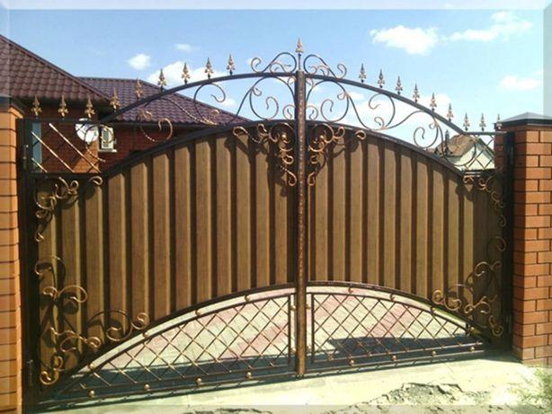 Ворота и/или калитки на Ваш выбор. Гаражные ворота
