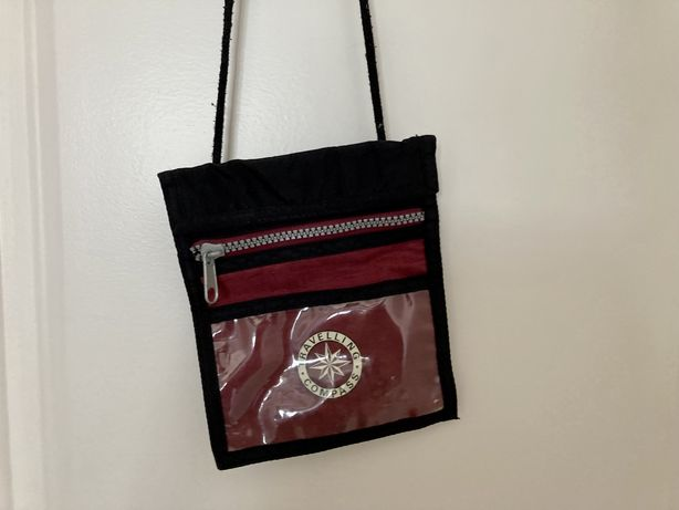 Bolsa tiracolo/peito para viagem