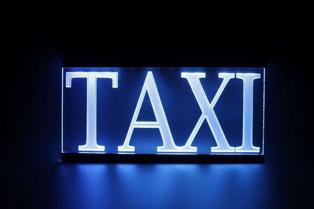LED Шашка, фишка, taxi, такси!