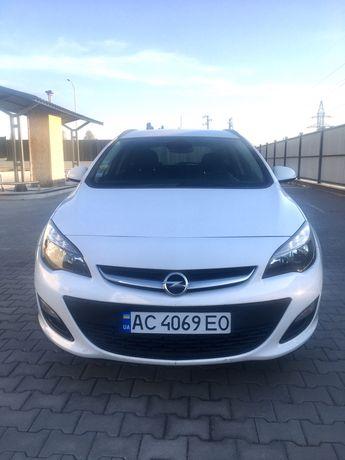Продам Opel Astra j sport tourer 1,6 cdti ecoflex 2014 р