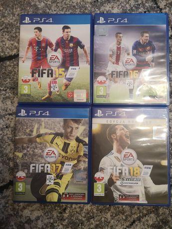 Gry Fifa 15 Fifa16 Fifa17 Fifa18 ps4