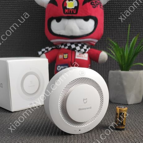 Датчик дыма Xiaomi MiJia Honeywell Smoke Detector Оригинал+батарейка