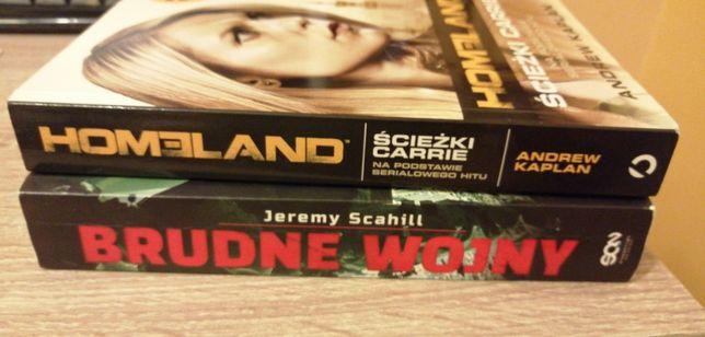Brudne wojny Homeland Ścieżki Carrie Scahill Kaplan 2 książki zestaw