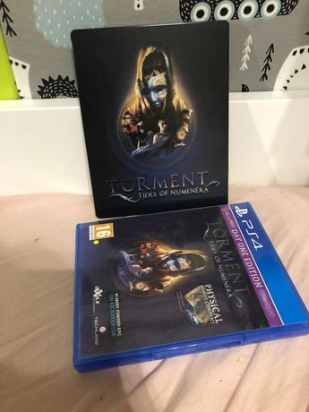 Torment Tides of Numenera PS4 + Steelbook