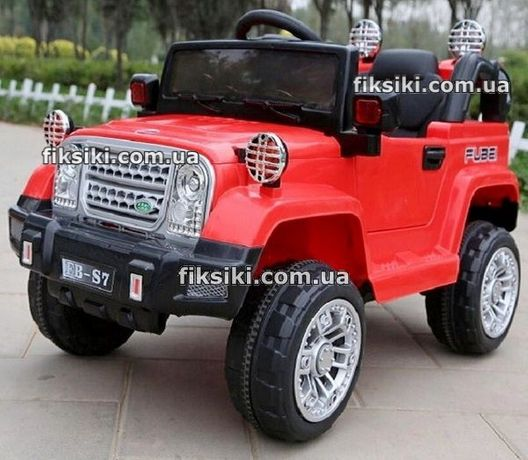 Детский электромобиль T-7838 RED, Дитячий електромобiль