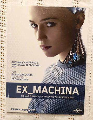 Ex_Machina - film DVD stan idealny