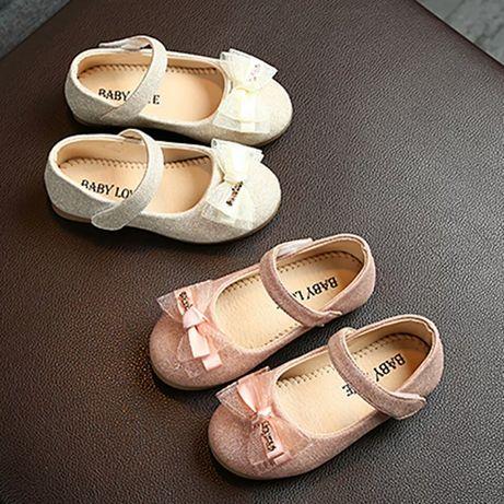 Туфли на девочку туфельки на праздник туфлі на дівчинку про 21-30