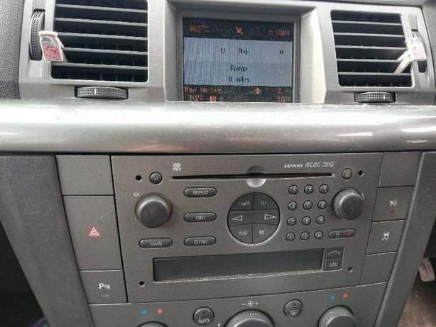Radio Cd Navi Opel NCDC 2013 U1A Siemens+Wyświetlacz Komplet