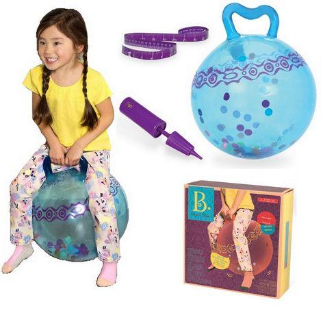 udostępnij B. Toys Piłka do skakania świecące kuleczki 3+