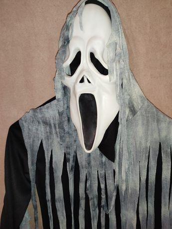 Костюм 5-7 лет 110-122 см крик маска Хеллоуин Хэллоуин костюм карнавал