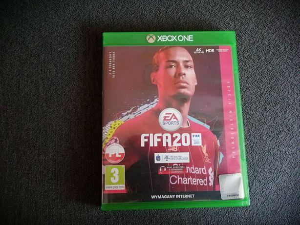 Fifa 20 PL  edycja mistrzowska Xbox one