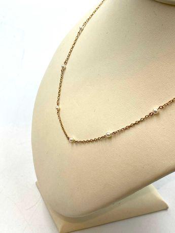 Nieużywany złoty łańcuszek Pr. 585 Waga: 3,98 G Plus Lombard