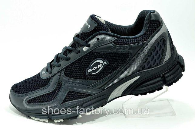 Мужские сетчатые кроссовки Bona, Тёмно-синие, купить