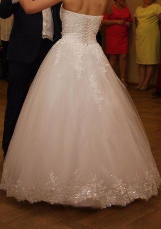 Przepiękna Suknia Ślubna!!!Polecam