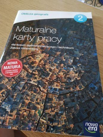 Maturalne karty pracy geografia