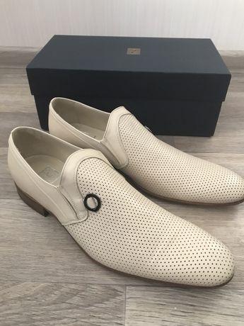 Туфли кожаные, Италия, р. 46