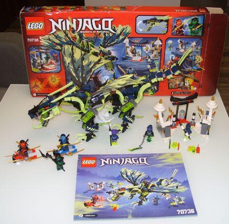 Lego Ninjago 70736 ATAK SMOKA MORO