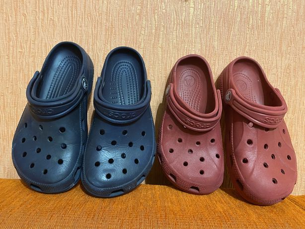 Клоги Crocs c 12-13, наш 29-30 размер.