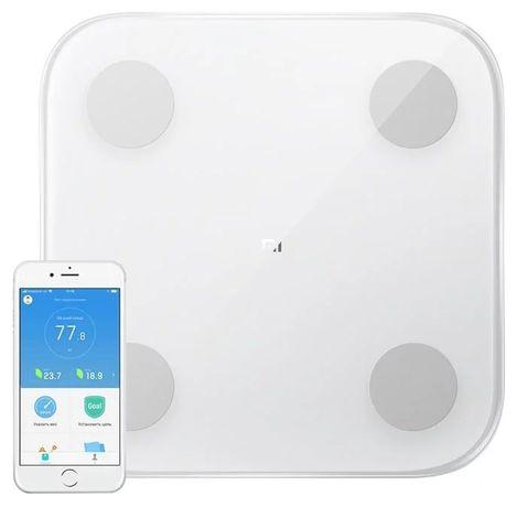 Оригинал! Напольные смарт весы Xiaomi Mi Body Composition Scale 2