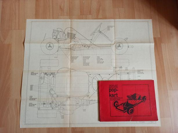 Plany budowy Gokart POP-KART Dokumentacja techniczna Tadeusz Rychter