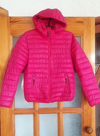 Куртка женская осень весна розовая 44-46р